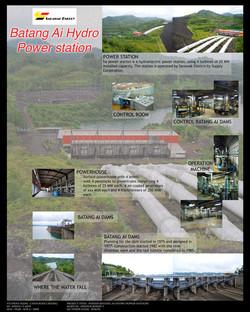 Batang Ai Hydro Power Station Poster