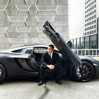 Jay Chua McLaren Pose