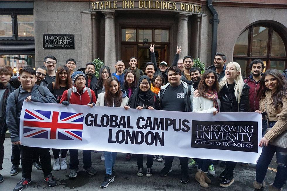 limkokwing student group photo
