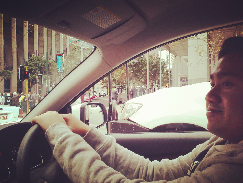Jay Driving in Perth Australia