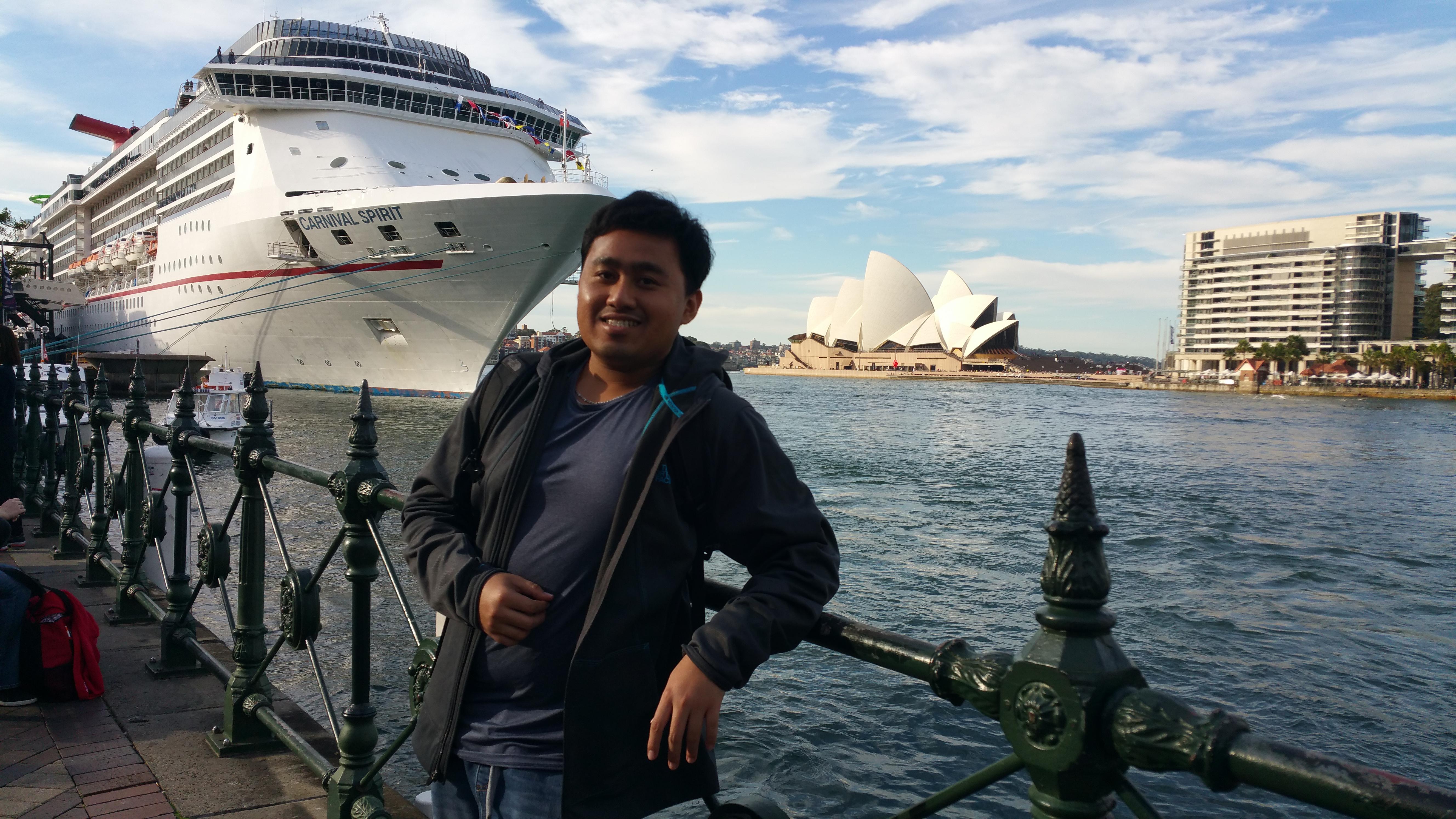 Jay Chua at The Opera House, Sydney