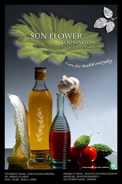 Cooking Oil Poster