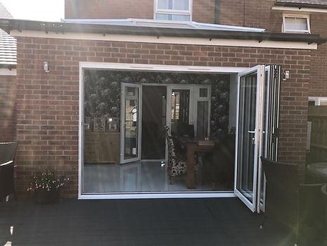 Aluminium Bi-fold Doors Fareham