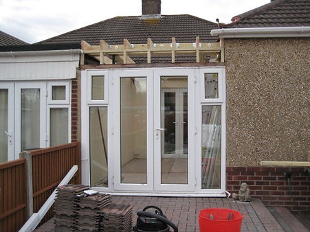 Lantern Roof Conversion