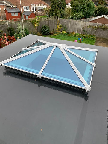 Orangery Roof EPDM Rubber
