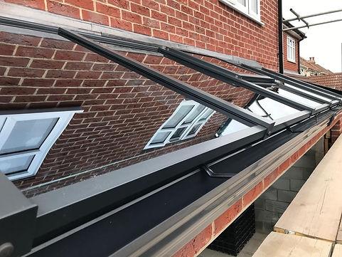 Bespoke Aluminium Roof Lanten Fareham