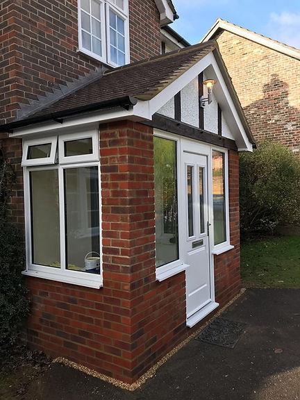 Porch Build Fareham