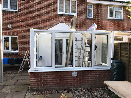 Tiled Conservatory Roof Fareham