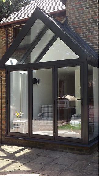 Aluminium Tripel Glazed Porch