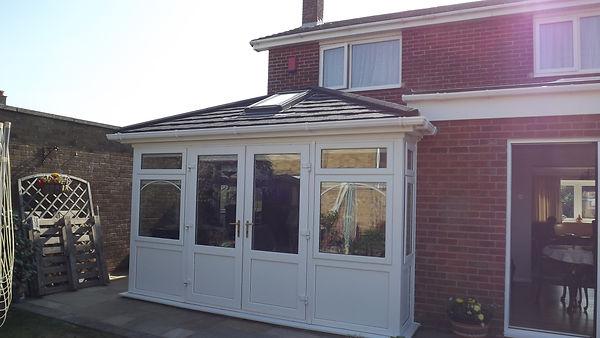 conservatory tiled roof gosport