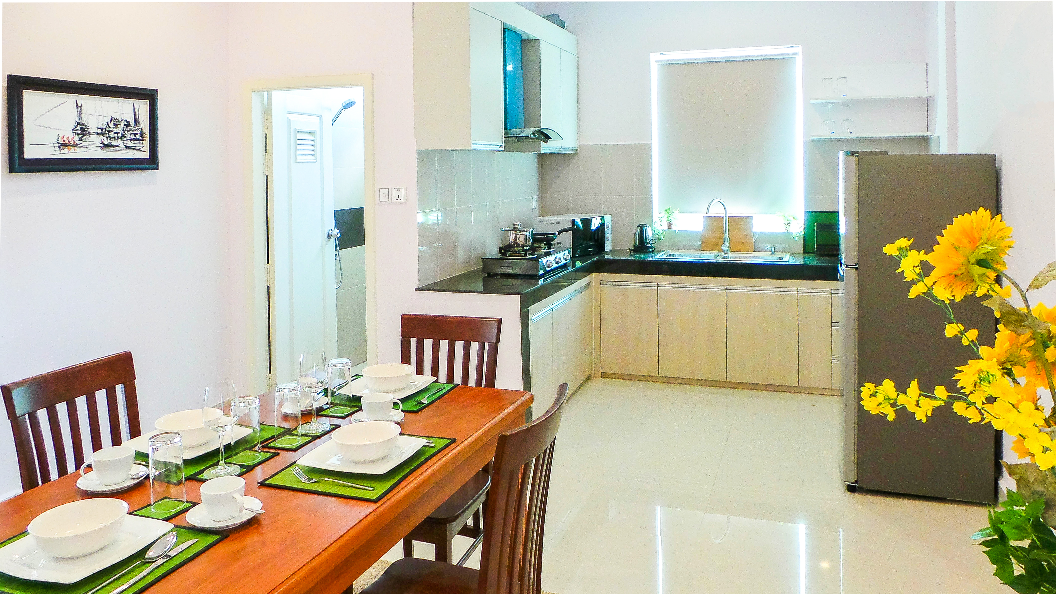 self catering | kitchen | Phnom Penh