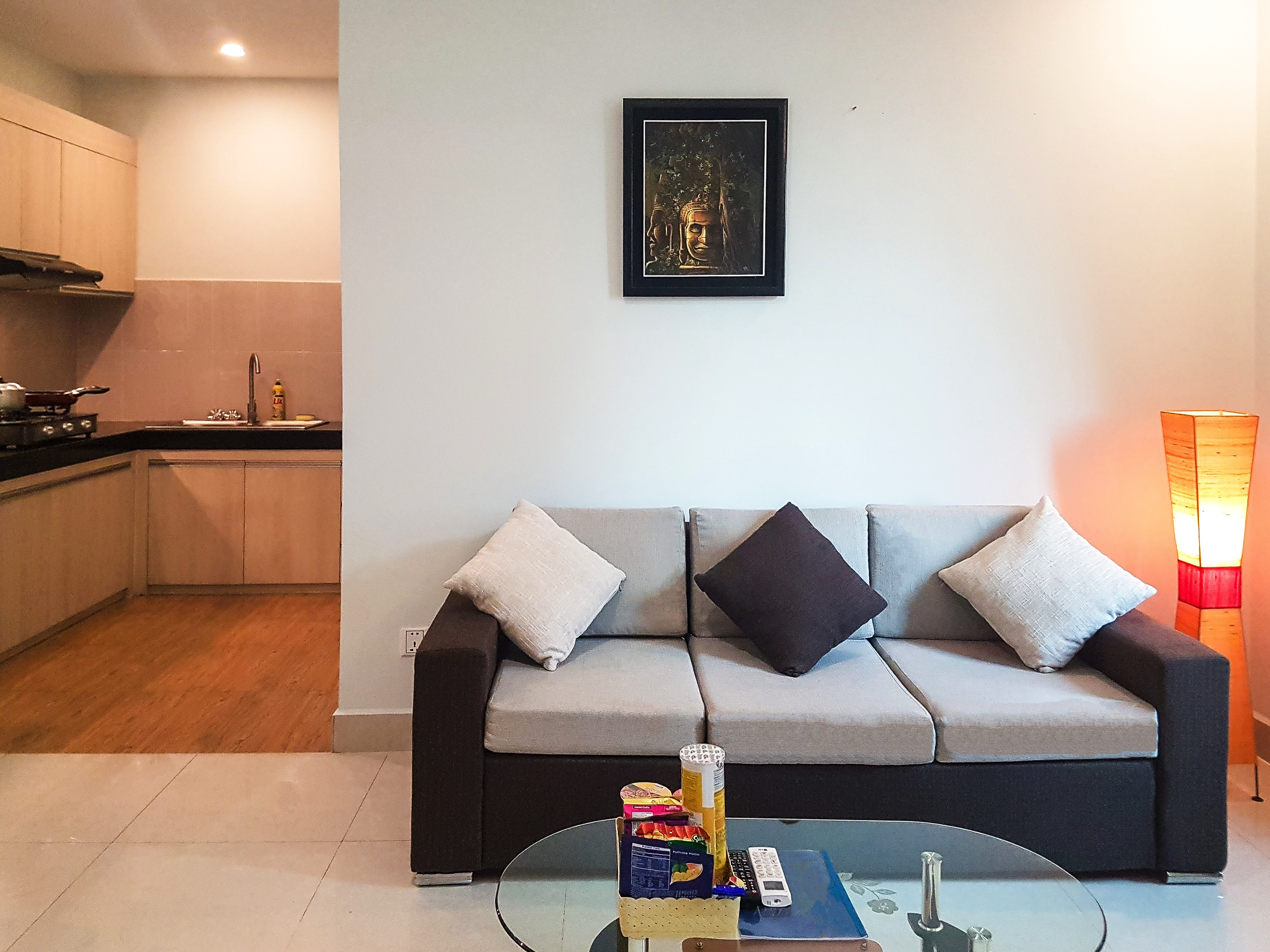 1 bedroom - Living room - short stay