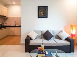 1 bedroom - Living room - short stay