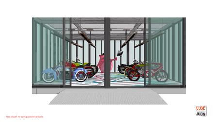Garage à motos