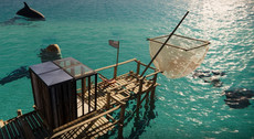 Cube cabane de pêcheur ( HD )