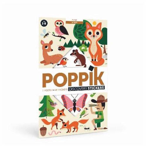Poppik - Poster Géant La forêt