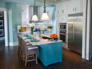 Planning a kitchen reno? Add personality and liven up that boring kitchen design…