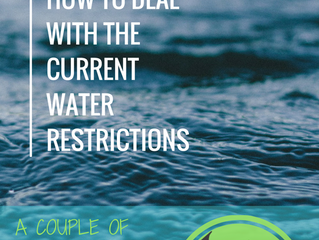 Cape Town Level 3 Water restrictions & how to deal with them