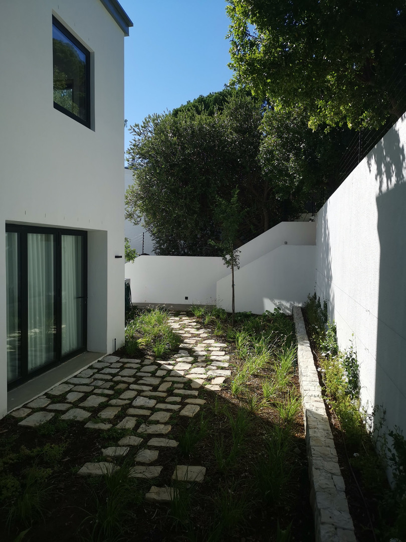 Higgovale courtyard