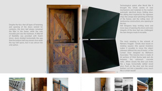 Object Study - Doors and Door handles.