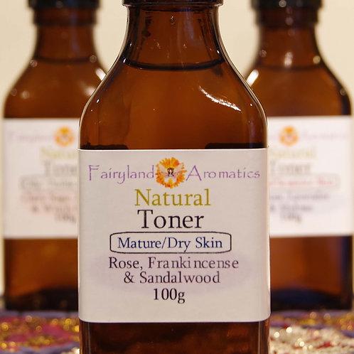 Toner: Rose, Frankincense & Sandalwood
