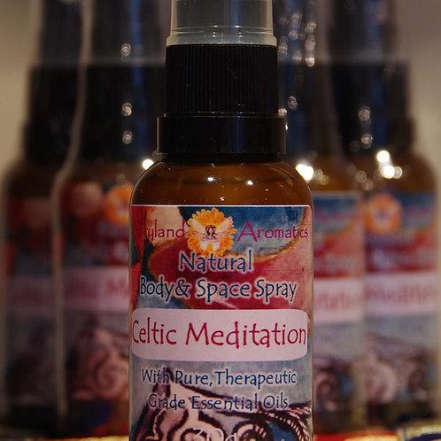 Celtic Meditation Natural Space Spray
