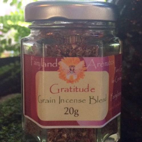 Gratitude Grain Incense Blend