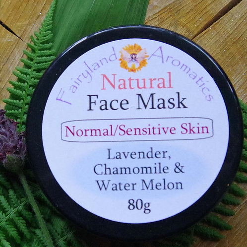 Face Mask: Lavender, Chamomile & Water Melon