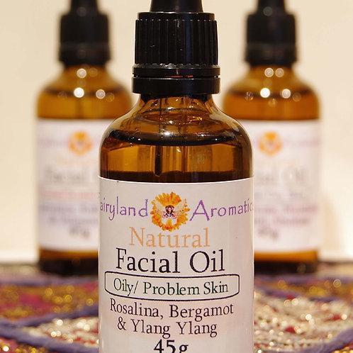 Facial Oil: Rosalina, Bergamot & Ylang Ylang