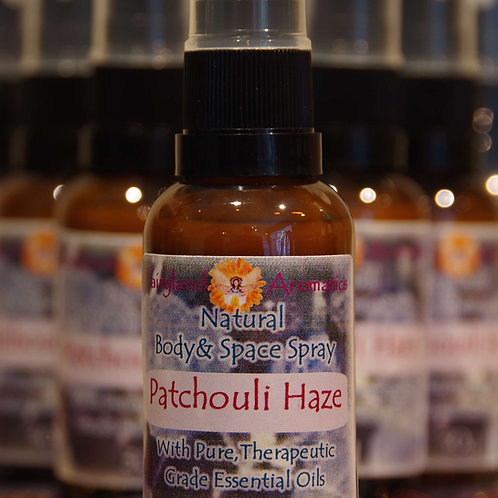 Patchouli Haze Natural Space Spray