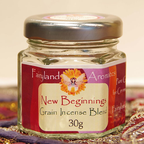 New Beginnings Grain Incense Blend