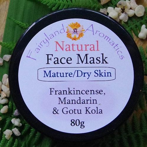 Face Mask: Frankincense, Mandarin & Gotu Kola