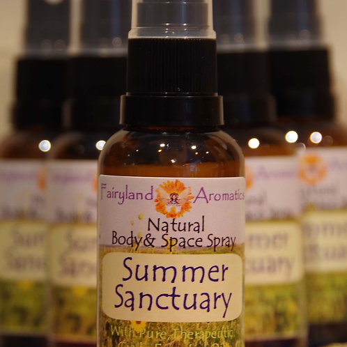 Summer Sanctuary Natural Space Spray