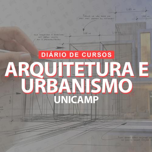 Arquitetura e Urbanismo Unicamp - Capa i