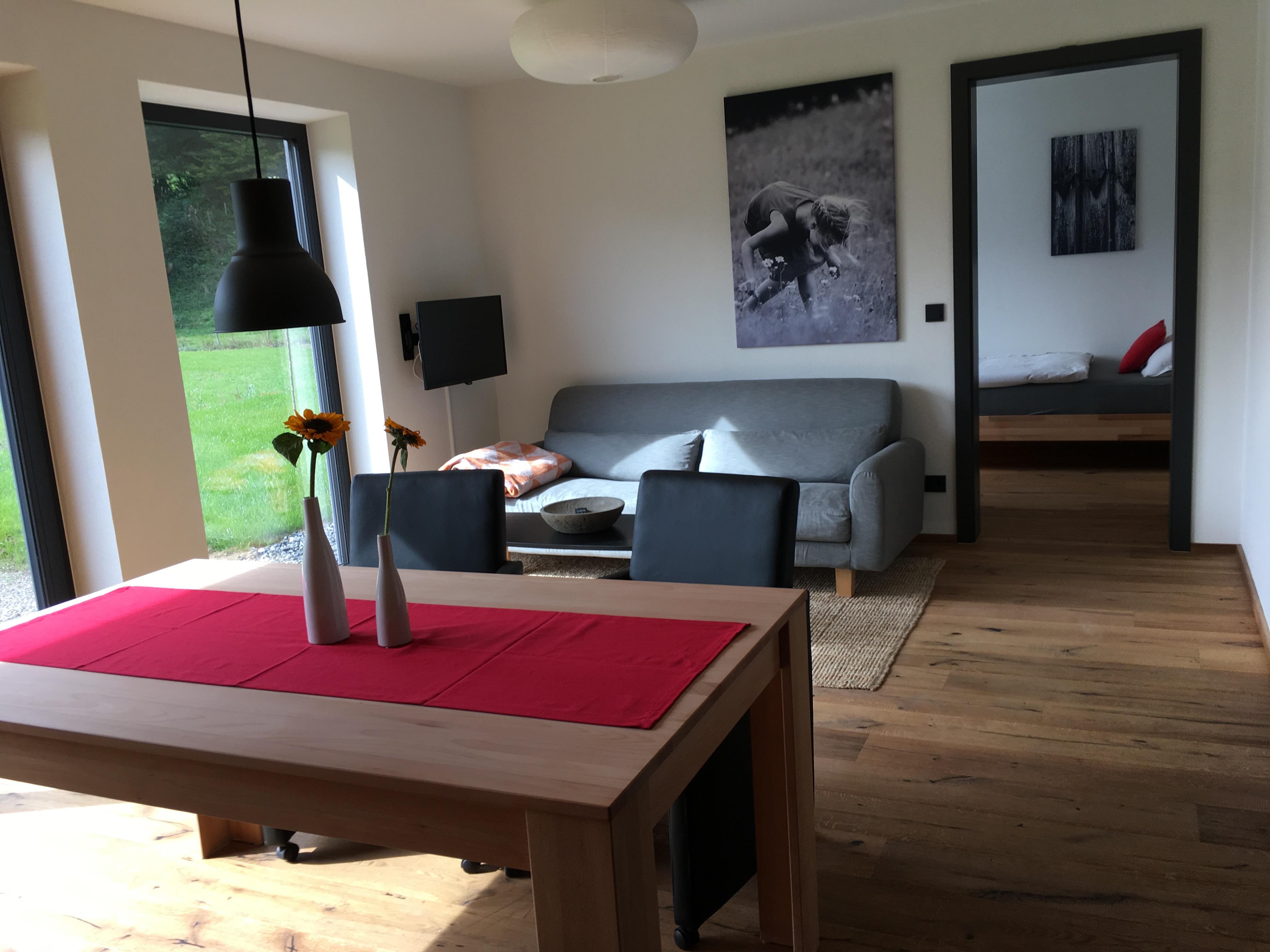 Wohnraum und Essplatz