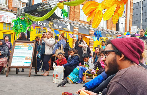 Night of Festivals Hounslow 2019 celebrates Wellbeing and Heritage in the Heart of Hounslow.