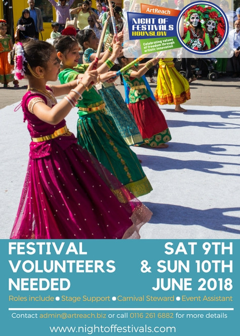 Call for Festival Volunteers