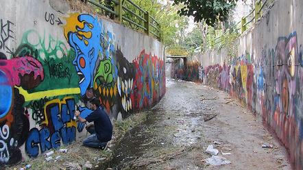 Graffiti, Art and Protest in Iran