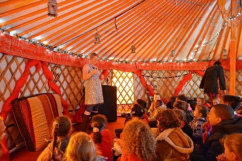 Unique venue, Mongolian Yurt at Night of Festivals