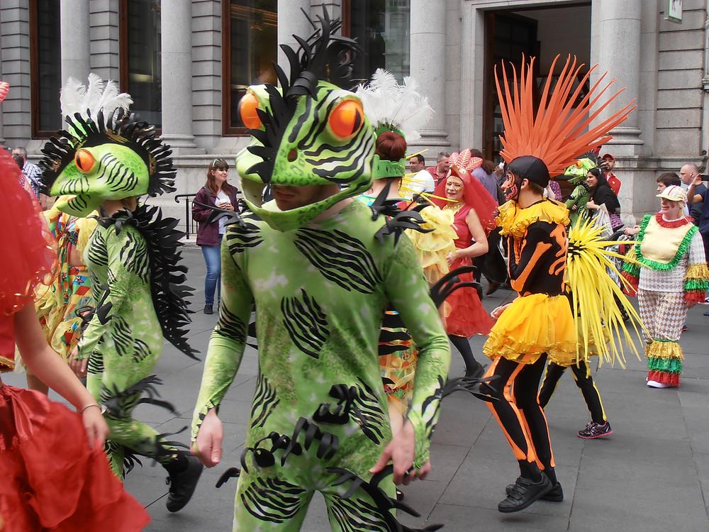 Carnival Frog Costume!