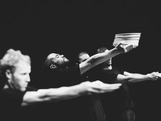 Rehearsal Images: Burning Doors