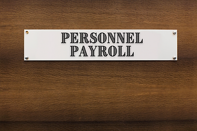 Personnel/ Payroll