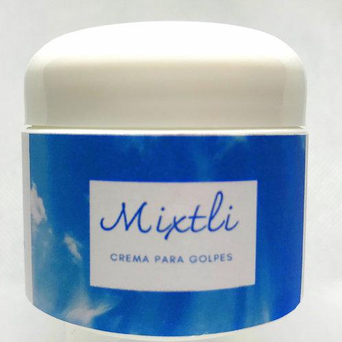 "Crema para golpes  ""Mixtli"""