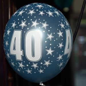 Elisabeth wird 40
