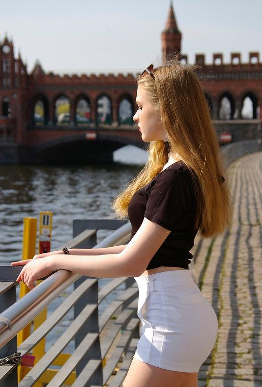 Streetstyle-Trends Berlin: Foto-Shooting an der Oberbaumbrücke
