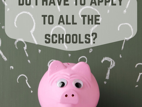 Do I have to apply to all the schools attending the National College Audition?
