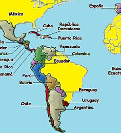 Salco Link To Country Information - Argentina map in spanish