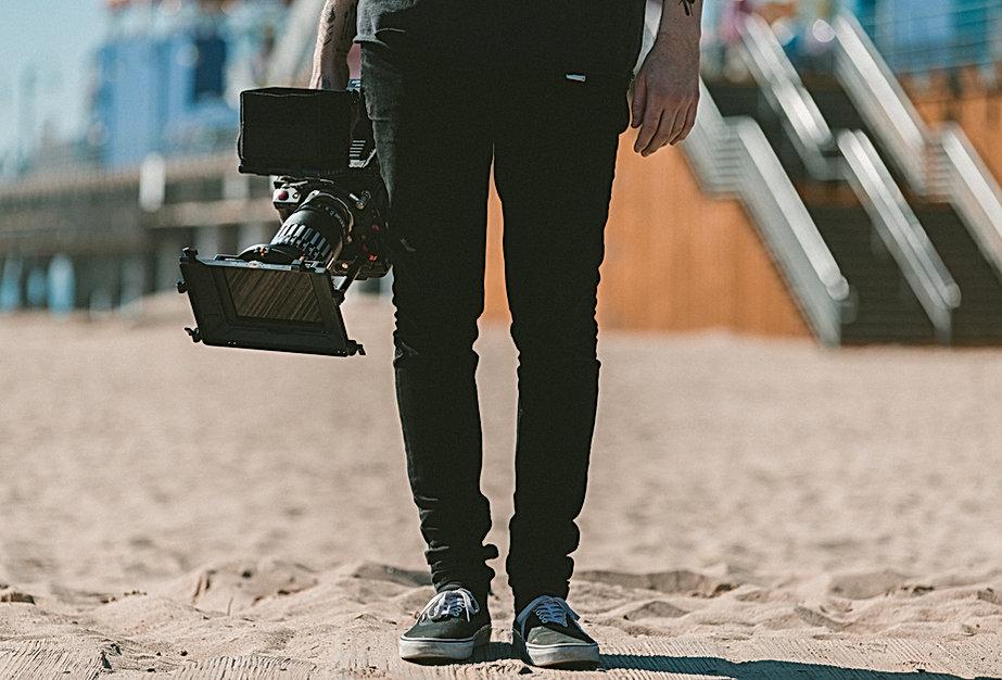 Man Holding Camera