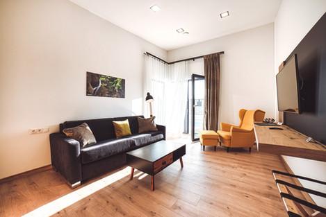 Obývačka s rozkladacou sedačkou