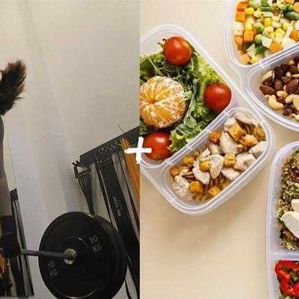 Além de treinar, por que é importante comer bem?
